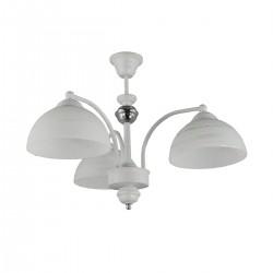 Lampa wisząca 3-ka CLEAR biała