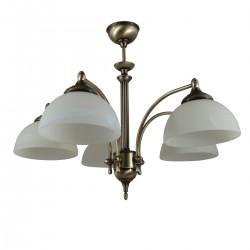 Lampa wisząca 5-ka patyna H-pol