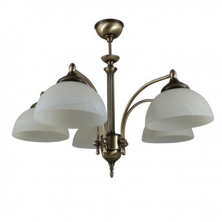 Lampa wisząca 3-ka patyna H-pol