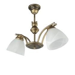 Lampa wisząca 2-ka SAN c-z men