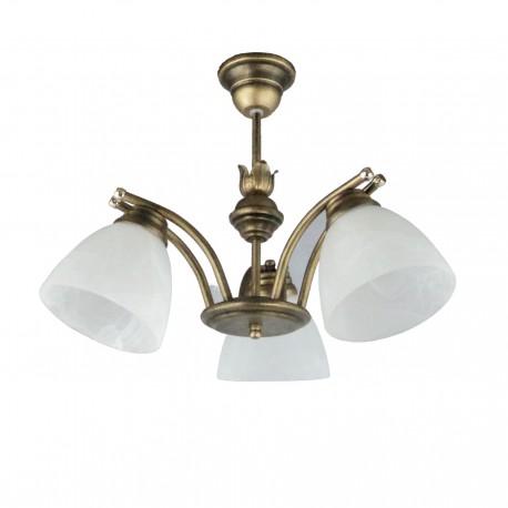 Lampa wisząca 3-ka SAN c-z men
