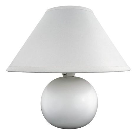Lampa nocna Ariel biała