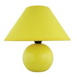 Lampa nocna Ariel żółta