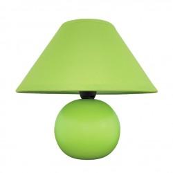 Lampa nocna mała porcelanowa zielona