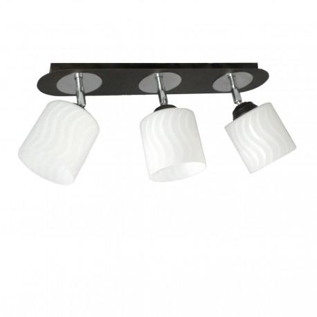 lampa plafon z przegubami PAULA 3-ka venge