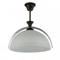 Lampa pojedyncza rysy duża venge
