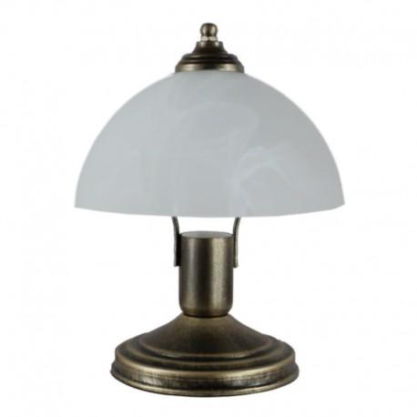 Lampa nocna mała patyna