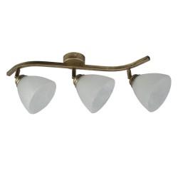 Lampa L3 SKA przeguby czarno złota